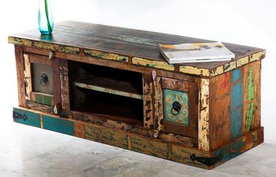 indische mbel awesome shabby chic tv sideboard minnesota teakholz massiv schubladen vintage. Black Bedroom Furniture Sets. Home Design Ideas