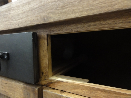 Sheesham Holz Kommode Sideboard 140x90x40cm Massiv