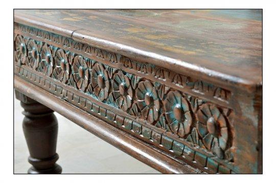 Vintage Möbel Couchtisch 90x45x90cm Massiv