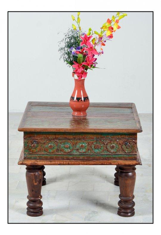 Vintage Couchtisch 60x45x60cm Shabby Möbel