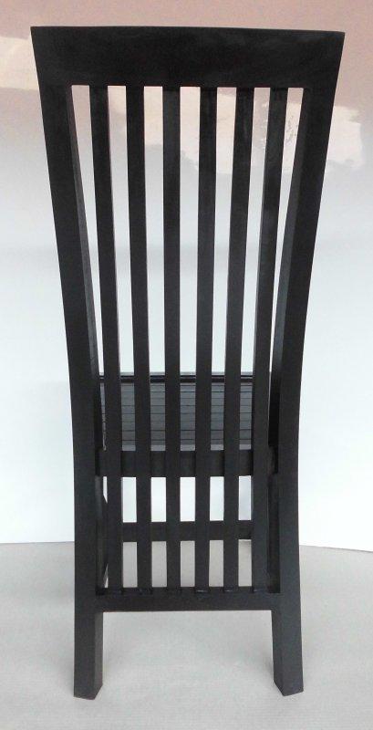 6x Teakholz Kolonial Stuhl 45x104x55cm Massiv