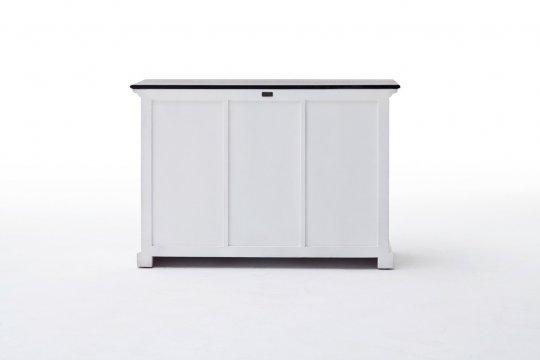Büffet Kommode Weiß 125x85x50cm Massiv