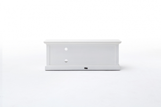 TV Board Lowboard Weiß 120x45x45cm Massiv