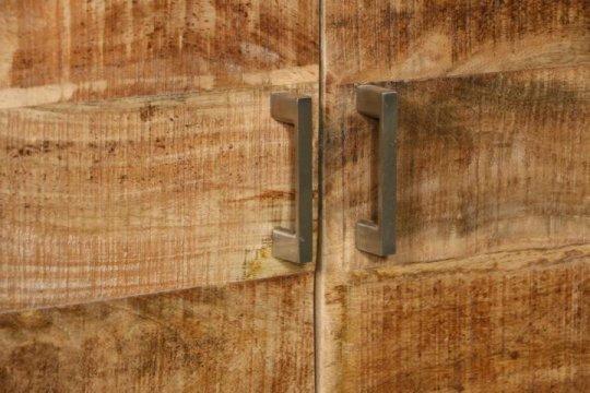 Massivholz Möbel Highboard 145x120x40cm