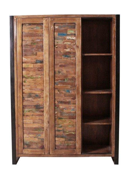 Vintage Massivholz Highboard 130x180x40cm