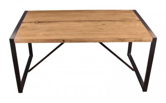 Akazienholz Tisch 100x200cm Massiv
