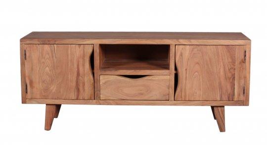 Massivholz Möbel TV Board 180x60x40cm