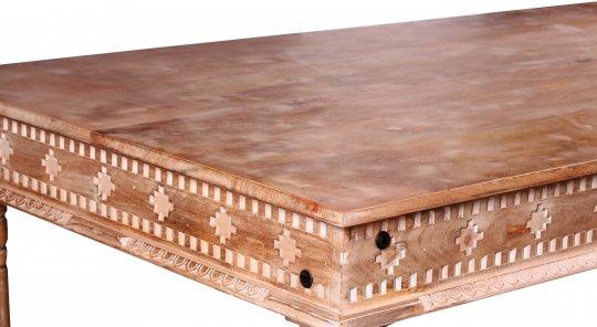 Vintage Massivholz Möbel Couchtisch 70x40x70cm
