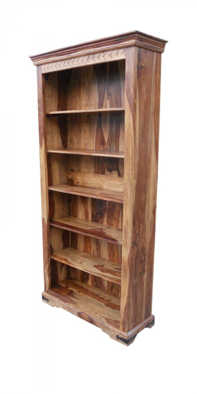 Akazie Möbel Massivholz Regal 97x200x35cm