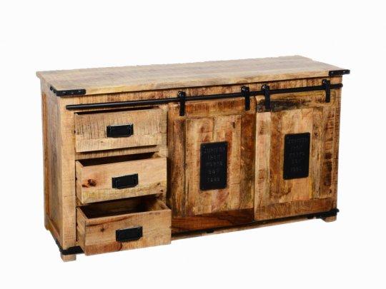 Vintage Massivholz Kommode 150x85x40cm