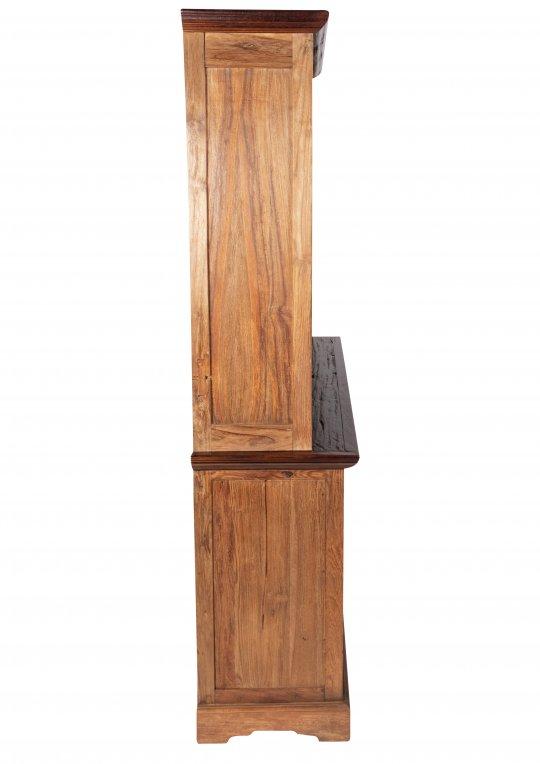 Teakholz Massivholz Buffet Natur 148x194x44cm