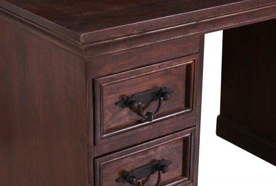 Kolonial Möbel Schreibtisch 132x90x65cm Massiv