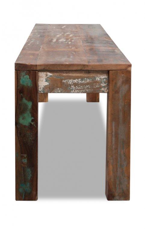 Vintage Möbel Sitzbank Bank Altholz 180x38x45cm