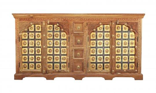 Akazien Möbel Sideboard 180x90x45cm Massivholz