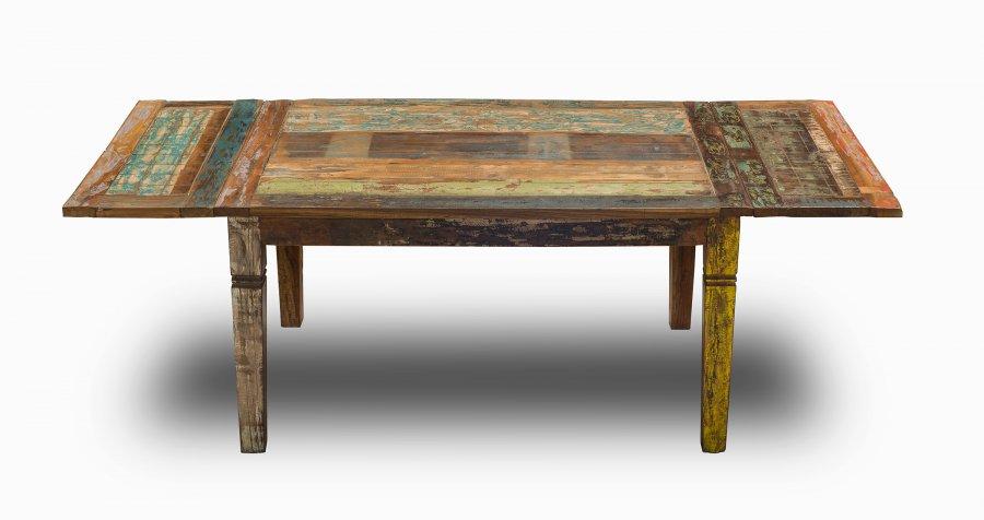 shabby chic vintage m bel esstisch 90x140cm kolonialm bel. Black Bedroom Furniture Sets. Home Design Ideas