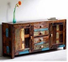 Vintage Kolonial Möbel Sideboard 170x80x40cm