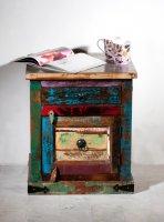 Kolonial Vintage Möbel Kommode 50x60x40cm