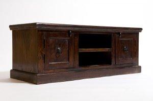 Kolonialmöbel Lowboard 120x45x45cm Massiv