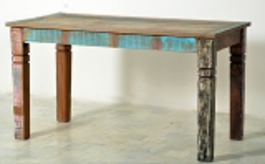 Vintage Möbel Esstisch Altholz 70x140cm Massiv