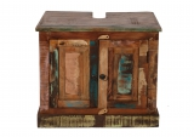 Vintage Möbel Massivholz Unterschrank 66x43x60cm