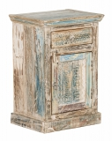Shabby Chic Vintage Möbel Kommode 50x75x40cm