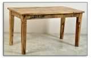 Vintage Tisch 140x76x70cm Massivholz