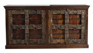 Kolonial Sideboard 180x90x45cm Massivholzmöbel