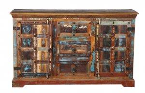 Vintage Massivholz Kommode 150x90x40cm