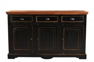 Kolonial Möbel Sideboard 150x90x40cm Massiv