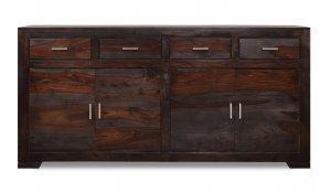 Kolonialmöbel Sideboard Massiv 175x85x40cm