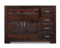 Kolonialmöbel Sideboard Massiv 110x85x40cm