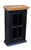 Kolonial Möbel Hängeschrank 44x70x20cm Massivholz MDF