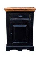 Kolonial Möbel Kommode 50x72x35cm Massivholz MDF