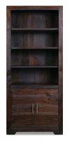 Kolonialmöbel Regal Bücherregal Massiv 80x180x35cm
