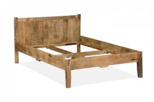 Massives Holz Bett 140x200cm aus Mangoholz