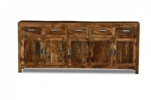 Massivholz Möbel Sideboard 200x85x42cm