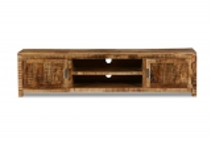 Massivholz Möbel Lowboard 200x50x45cm