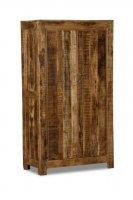 Massivholz Möbel Schrank 100x180x50 cm