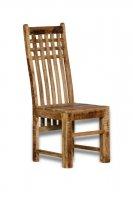 6x Massivholz Möbel Stuhl 45x110x45cm