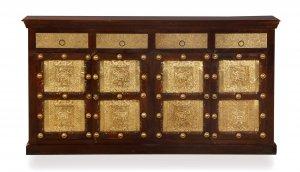 Kolonial Möbel Sideboard 170x85x45cm Massiv