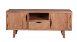 Massivholz Möbel Vintage Lowboard 145x60x40cm
