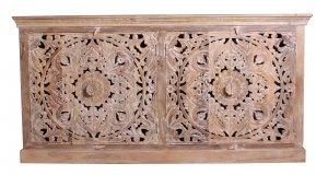 Vintage Massivholz Möbel Sideboard 180x90x45cm