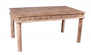 Vintage Massivholz Möbel Tisch 140x70cm
