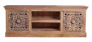 Vintage Massivholz Möbel Lowboard 150x60x40cm