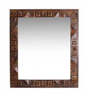 Kolonial Möbel Spiegel Massiv