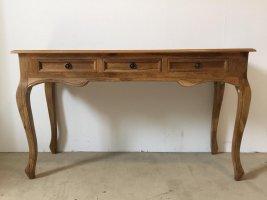 Vintage Massivholz Möbel Schreibtisch 130x76x45cm