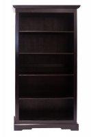 Kolonial Möbel Bücherschrank Regal 98x184x44cm Akazie Massiv
