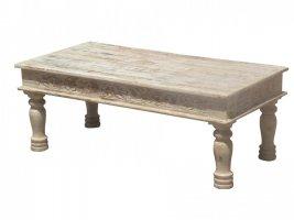 Shabby Chic Möbel Couchtisch 120x45x60cm Massiv