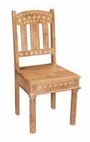 2x Vintage Stuhl 45x95x45cm Massiv