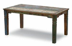 Vintage Möbel Esstisch 90x160cm Massiv